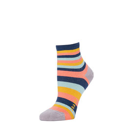 Zkano Scout Multi Stripes Anklet Navy