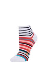 Zkano Rosie Multi Stripes Anklet White