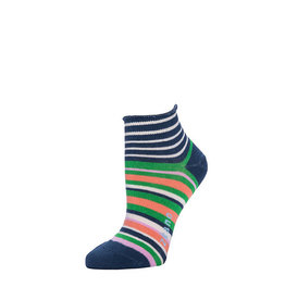 Zkano Rosie Multi Stripes Anklet Navy