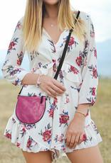 Helping Hand Partners Marlee Crossbody Bag Pink