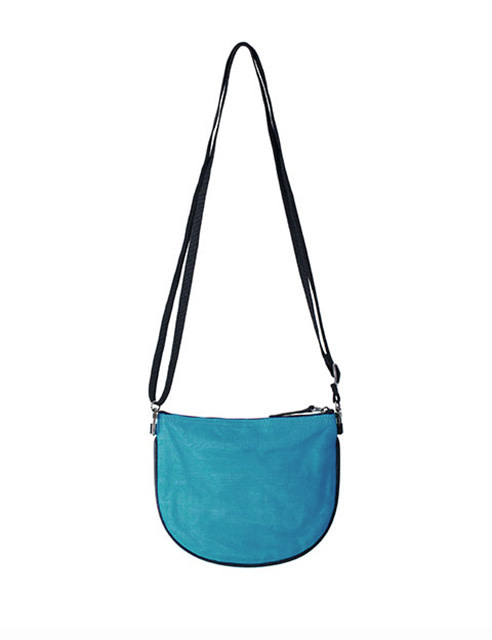 Helping Hand Partners Marlee Crossbody Bag Light Blue