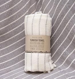 Pokoloko Bamboo Turkish Striped Towel Mist