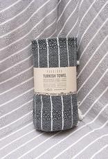 Pokoloko Bamboo Striped Towel Monochrome