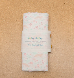 Carley Barley Swaddle Blanket Meadow