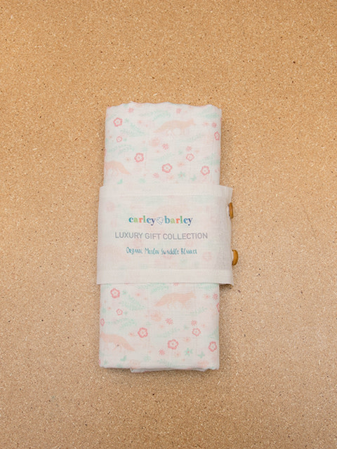 Carley Barley Swaddle Blanket Meadow