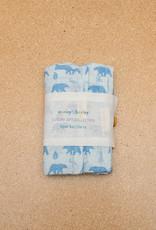 Carley Barley Burp Cloth set of two Woodland