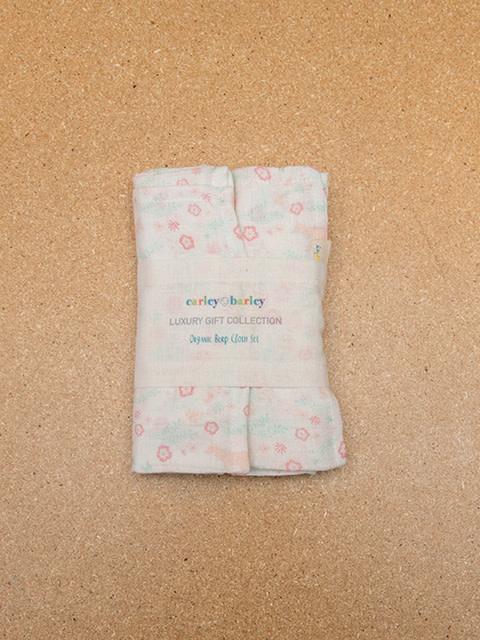 Carley Barley Burp Cloth set of two Meadow