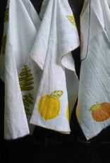 Moontea Artwork Tea Towel Tangerines Orange