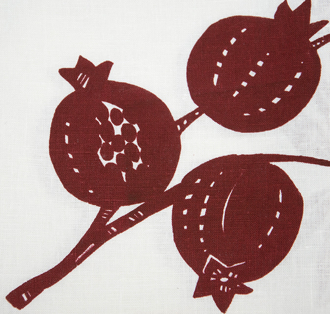 Moontea Artwork Tea Towel Pomegranate