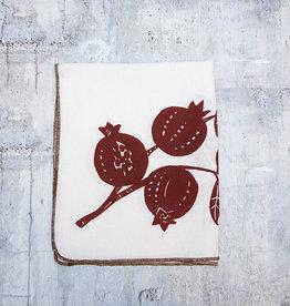 Moontea Artwork Tea Towel Pomegranate