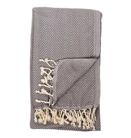 Pokoloko Turkish Herringbone Towel Highway