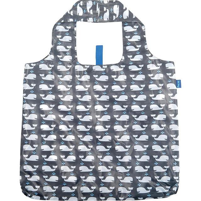 Rockflowerpaper Blu Bag Whales Grey