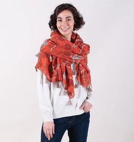 Rockflowerpaper Tassel Wrap Simbra Orange