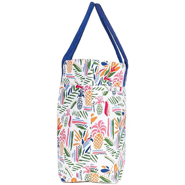 Rockflowerpaper Beach Tote Bag Tropics