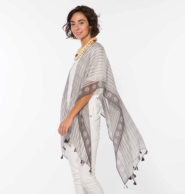 Rockflowerpaper Kimono Leila Grey