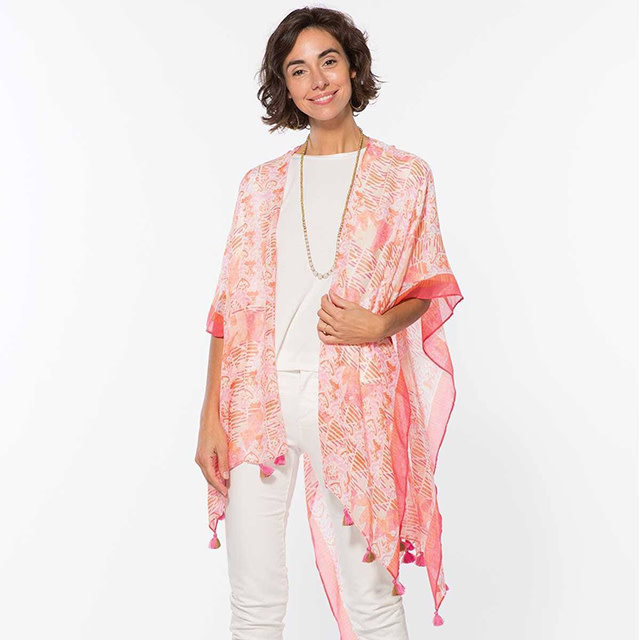 Rockflowerpaper Kimono Rhea Pink