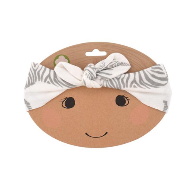 Milkbarn Organic Headband Rose Dot