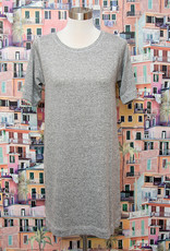 Nally and Millie French Terry Dress Heather Grey