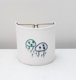 Kreatelier Night Light Embroidered Mushroom