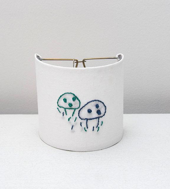 Kreatelier Night Light Embroidered Mushroom