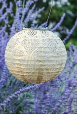 "Allsop Home and Garden Solar Lantern Globe Pearl 8"""
