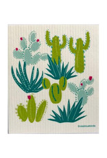Three Bluebirds Swedish Dishcloth Cacti