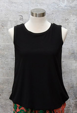 Yest Sleeveless Blouse Black