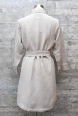 Yest Linen Jacket Pebble