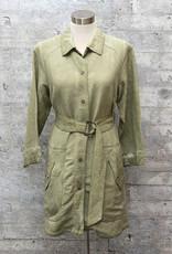Yest Linen Jacket Soft Green