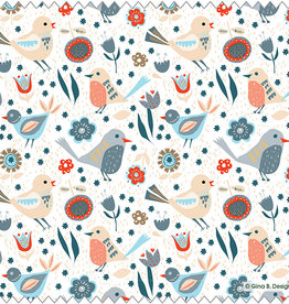 Gina B Designs Microfiber Cloth Birds