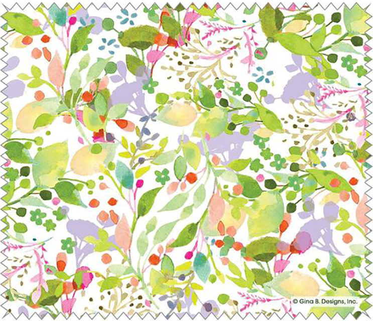 Gina B Designs Microfiber Cloth Spring Color