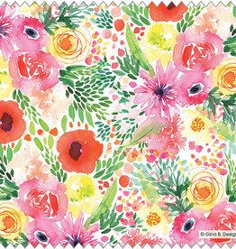 Gina B Designs Microfiber Cloth Garden Party