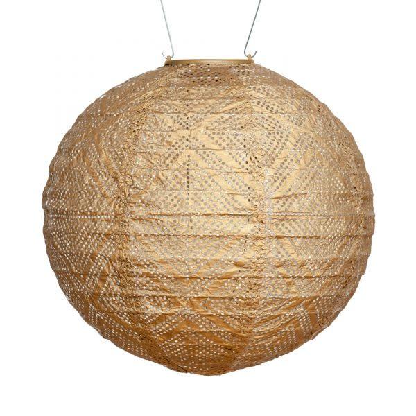 "Allsop Home and Garden Solar Lantern Globe Market Bronze 12"""