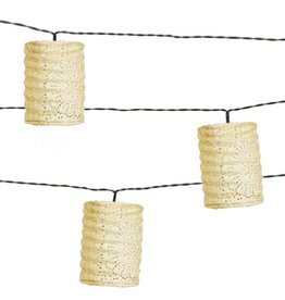 Allsop Home and Garden Solar String Lights Cylinder