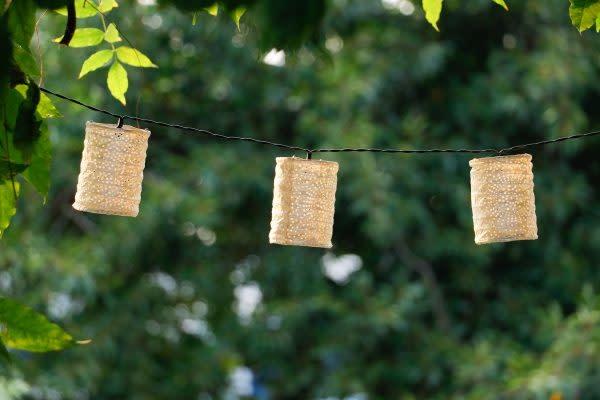 Allsop Home and Garden Solar String Lights Cylinder