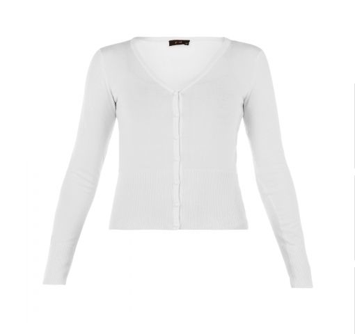 Yest Yana Cardigan in White