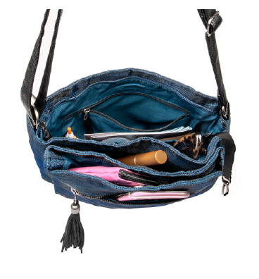 Helping Hand Partners Lucy Crossbody Bag Navy