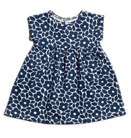 Winter Water Factory Merano Baby Dress Marrakesh Floral Blue