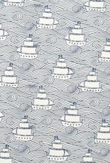 Winter Water Factory Oslo Baby Dress High Seas Navy