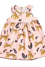 Winter Water Factory Oslo Baby Dress Wildcats Blush Pink 6M