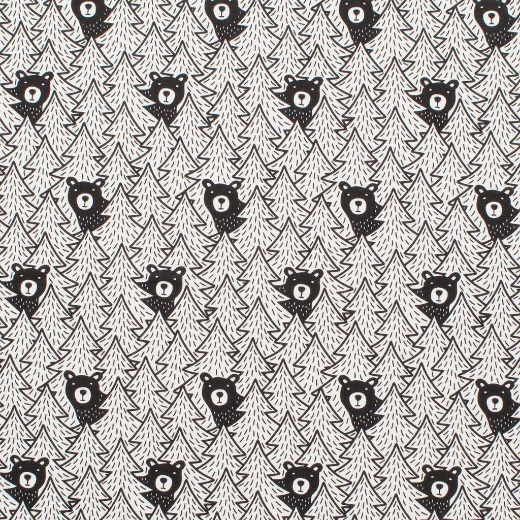 Winter Water Factory Merano Baby Dress Bears Black 12M