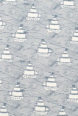 Winter Water Factory Lightweight Blanket High Seas Navy