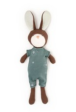 Hazel Village Stuffed Animal Lucas Rabbit in Adventure Romper