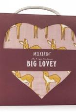 Milkbarn Big Lovey in Pink Doe