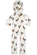 Milkbarn Hooded Romper Chicken