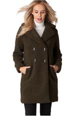 Yest Coat Boucle Olive