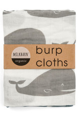 Milkbarn Bundle Big Lovey & Burp Clothes Whale