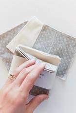 Slow North Reusable Facial Cloths Slate Set of 8