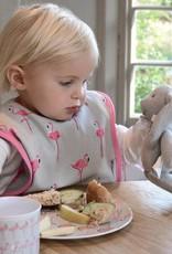 Sophie Allport Baby Bib Flamingos