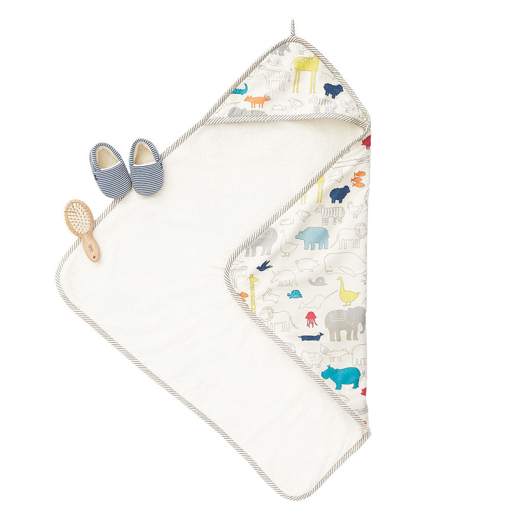 Pehr Designs Hooded Towel Noah's Ark